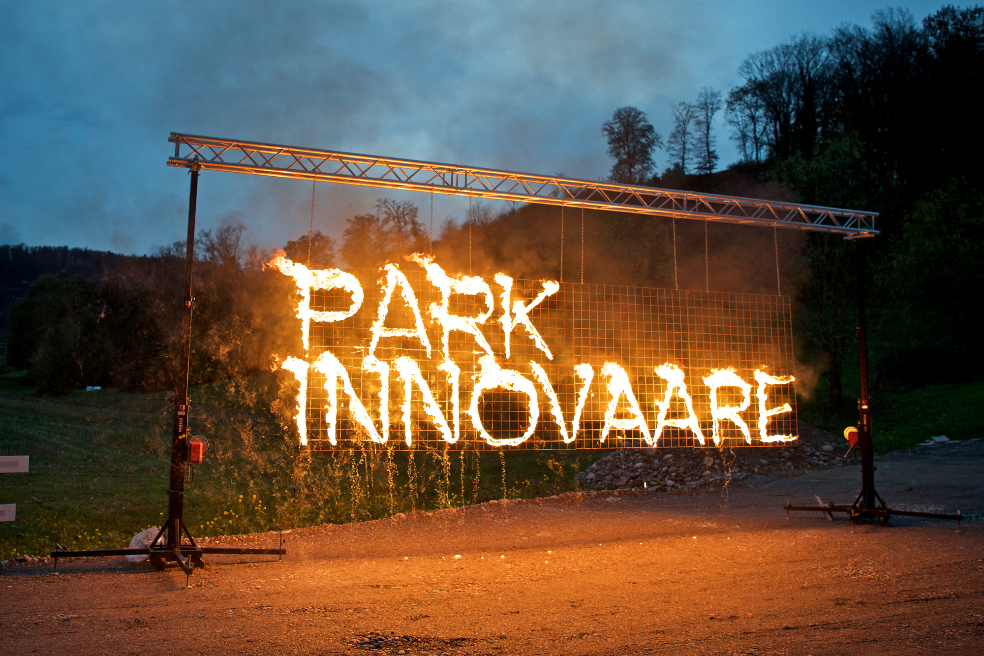 GROUNDBREAKING PARTY FOR EXPANSION OF INNOVATION PARK